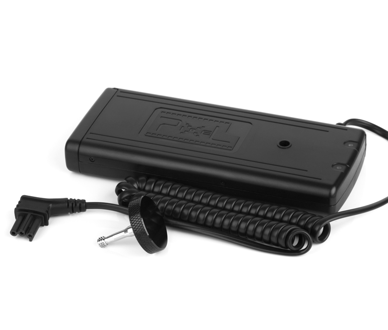 Pixel TD-382 Flash External Battery Pack, fast power supply and long lasting.