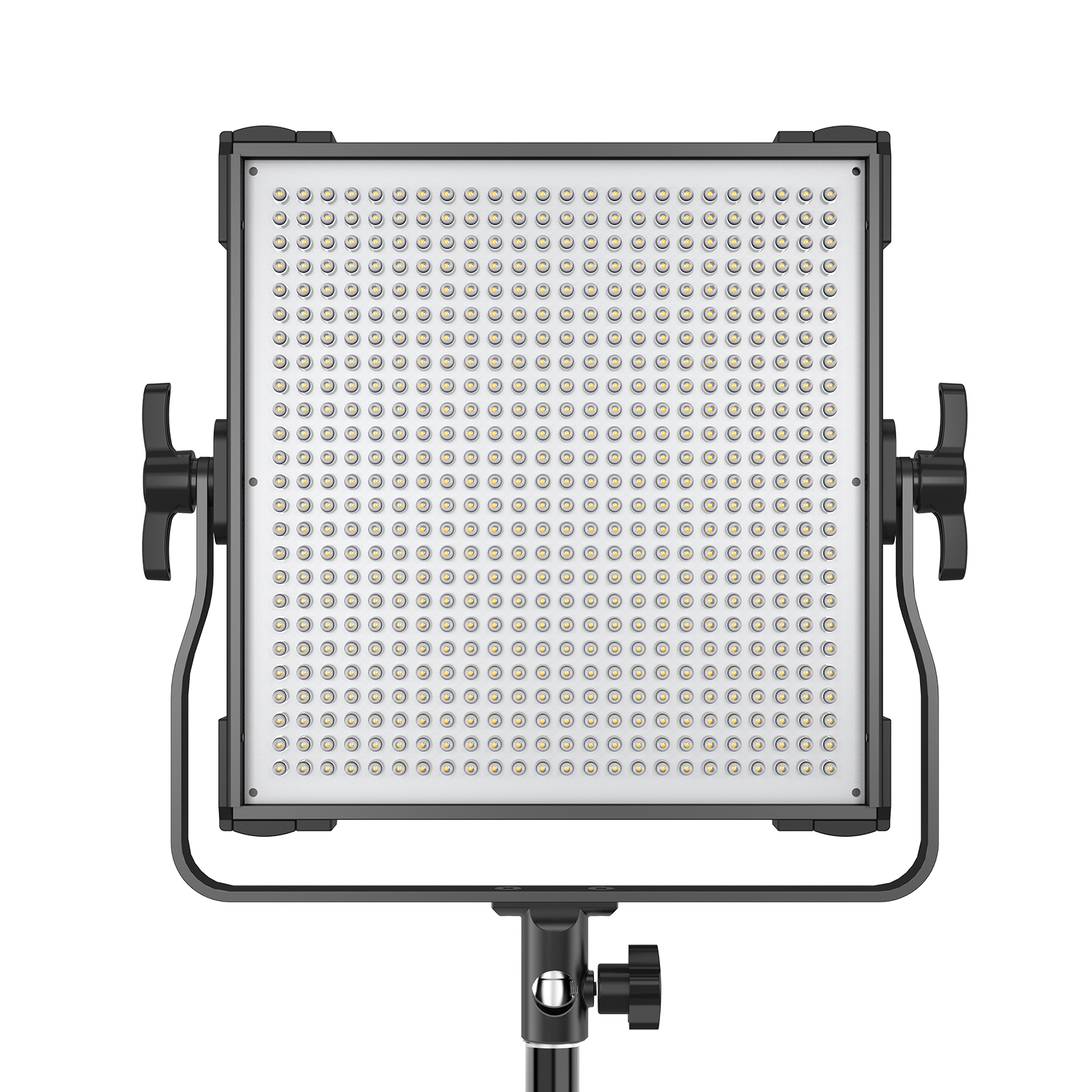 Plxel P45C RGB Metal Light, Gathering light Reflector, brightness upgrade, bi-color temperature and Stepless Adjusted.