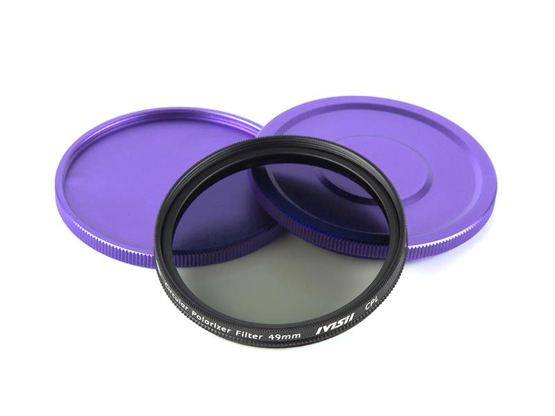 Pixel CPL Filter 49mm, strong protection and improve quality.