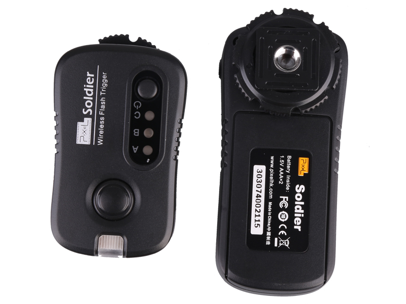 Pixel Soldie Canon (TF-371) wireless flash group/shutter remote control, wireless control and wake up at will.