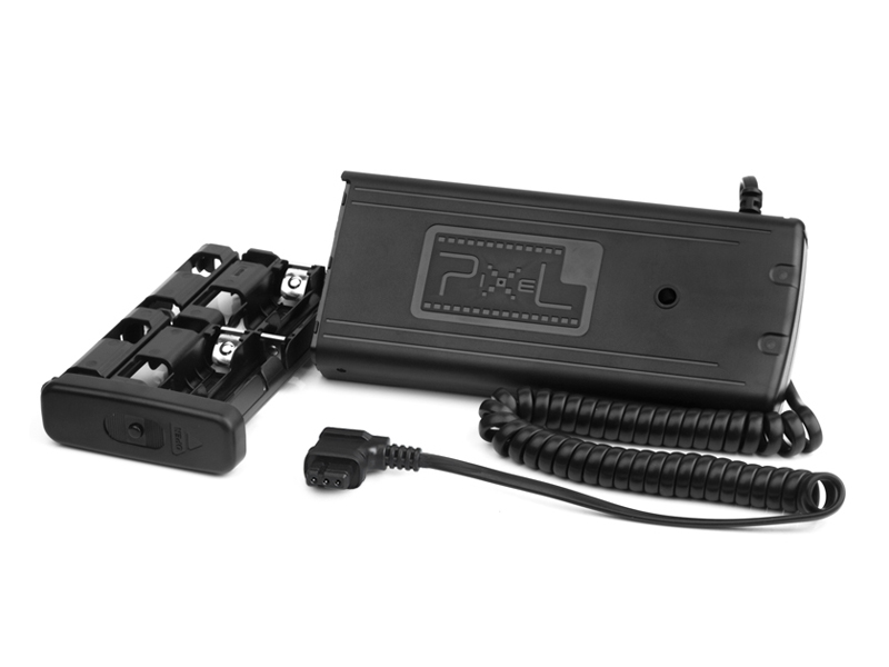 Pixel TD-381 Flash External Battery Pack, fast power supply and long lasting.