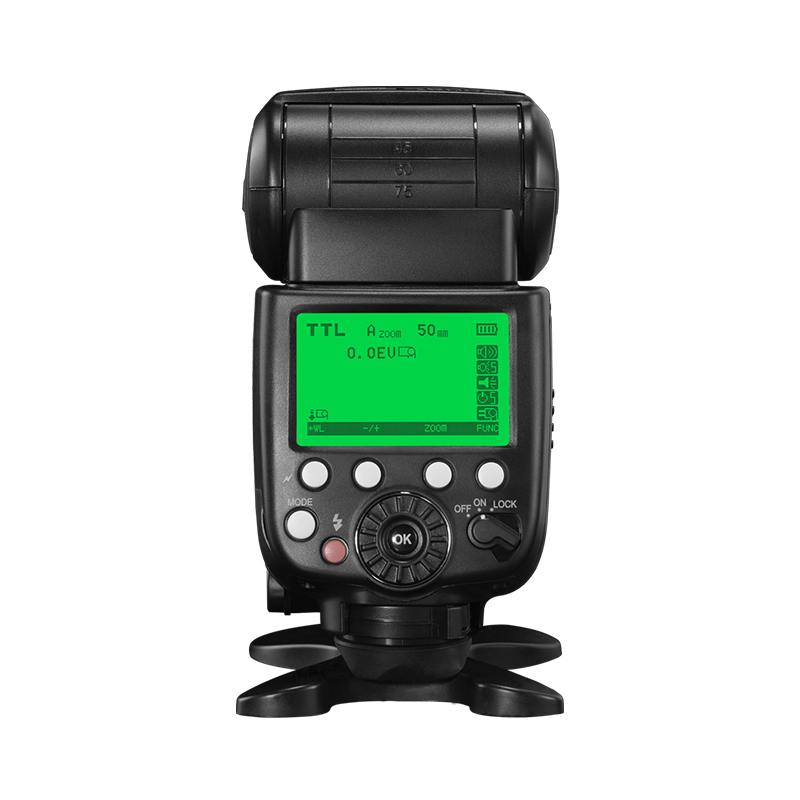 Pixel X800S Standard Speedlite for Sony, high speed synchronization and powerful performance.