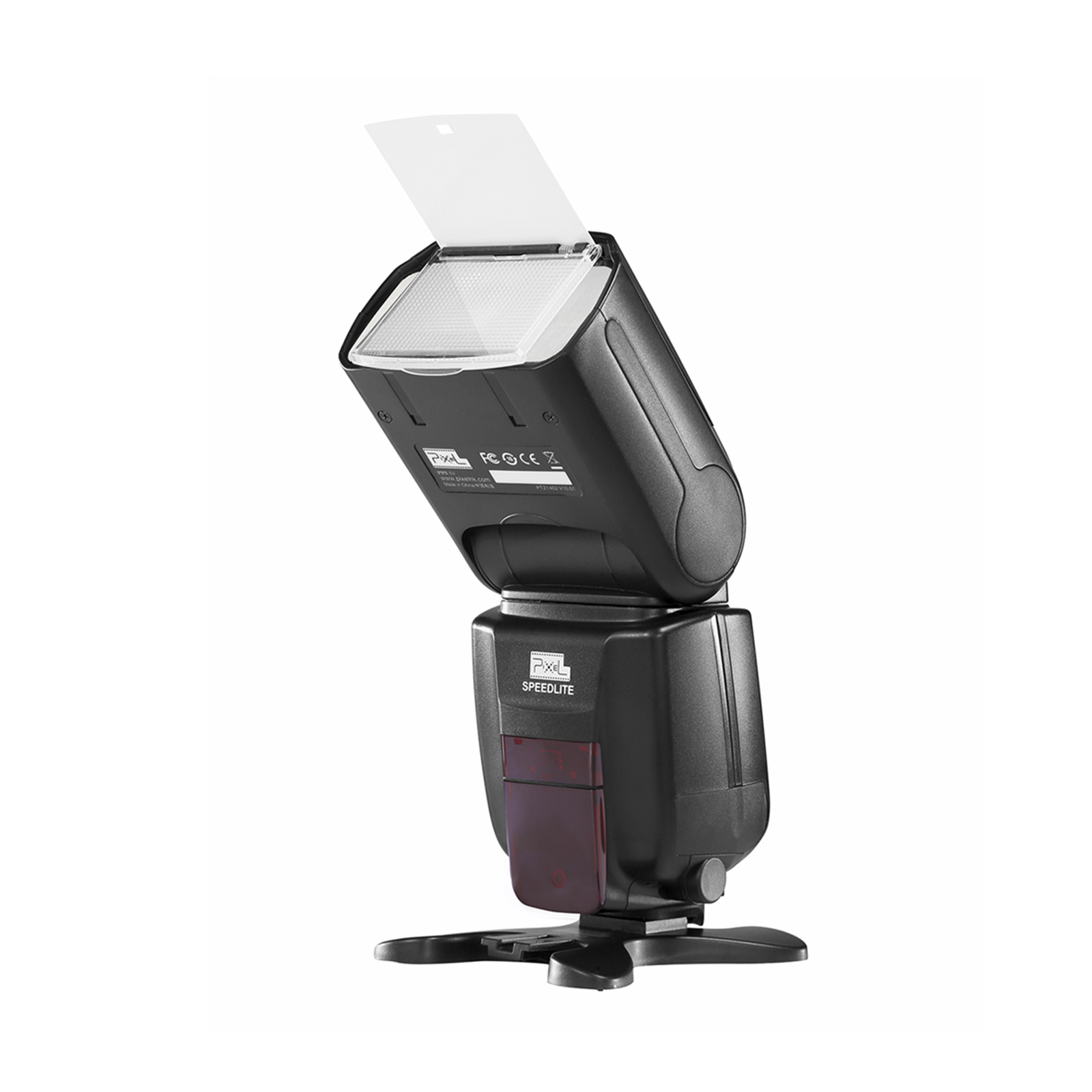 Pixel x800n standard speedlite for Nikon, high speed synchronization and powerful performance.