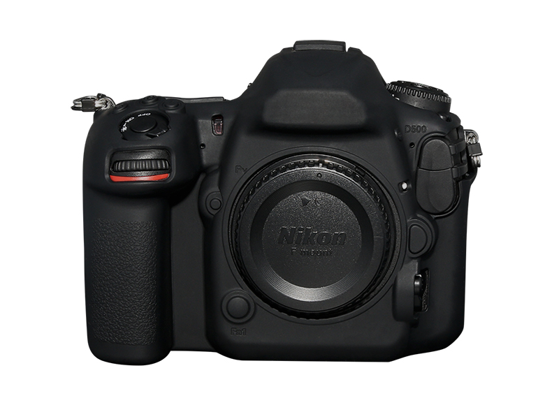 Pixel For Nikon D500 camera silicone cover, all-round protection, silica gel material and consistent feel