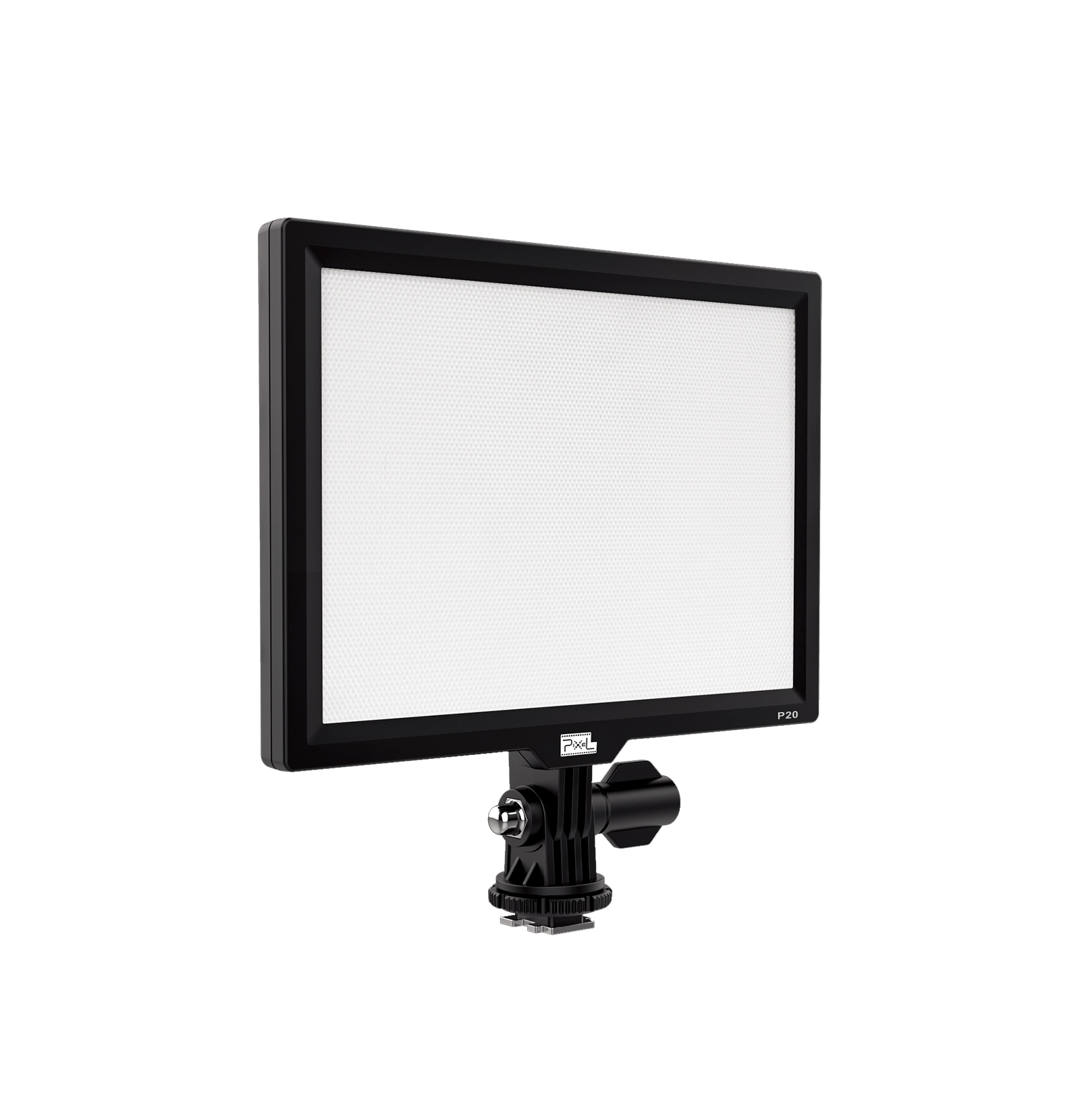 Pixel P20 Panel Light, super wide area color temperature,100 degree saturation, light and portable, intelligent special effects and flexible color palette