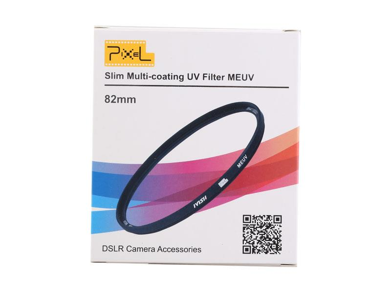 Pixel MEUV Filter 82mm, strong protection and improve quality.