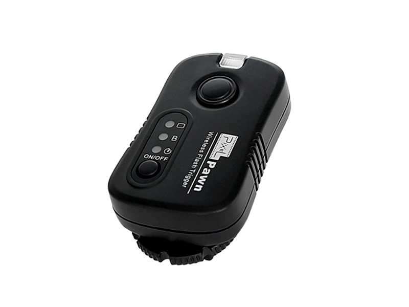 Pixel Pawn (TF-365) flash remote control for Sony cameras, wireless control and powerful functions.