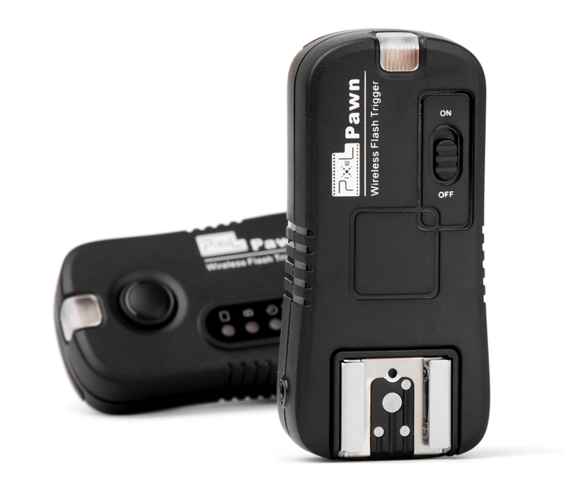 Pixel Pawn (TF-362) professional flash remote control, wireless control and powerful functions.
