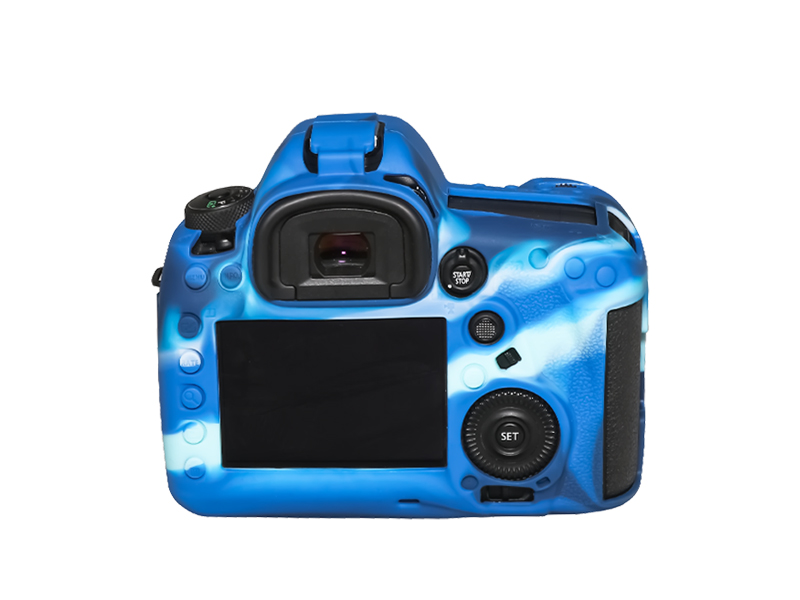 Pixel For Canon 5D Mark IV camera silicone cover, full range of protection, silicone material and consistent feel.