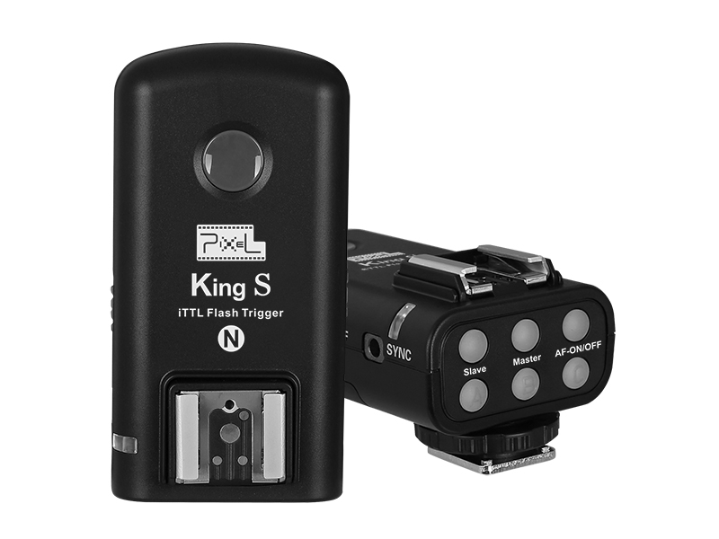 Pixel King S Wireless iTTL Transmitter, send, receive and powerful function.