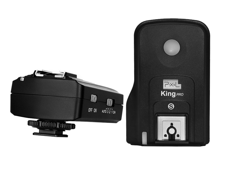 Pixel King PRO Flash wireless TTL, Send, receive and powerful function.