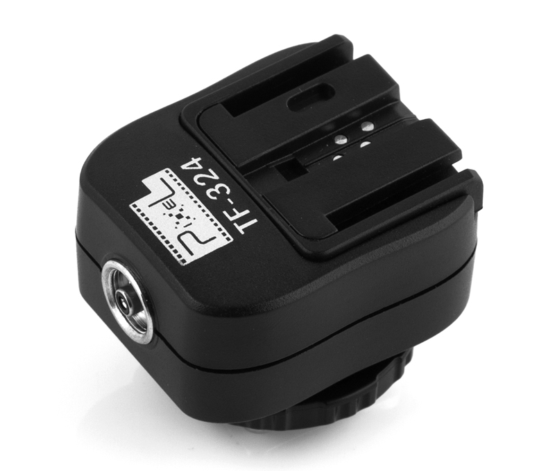 Pixel TF-324 hot shoe adapter, interface transformation and multiple support.