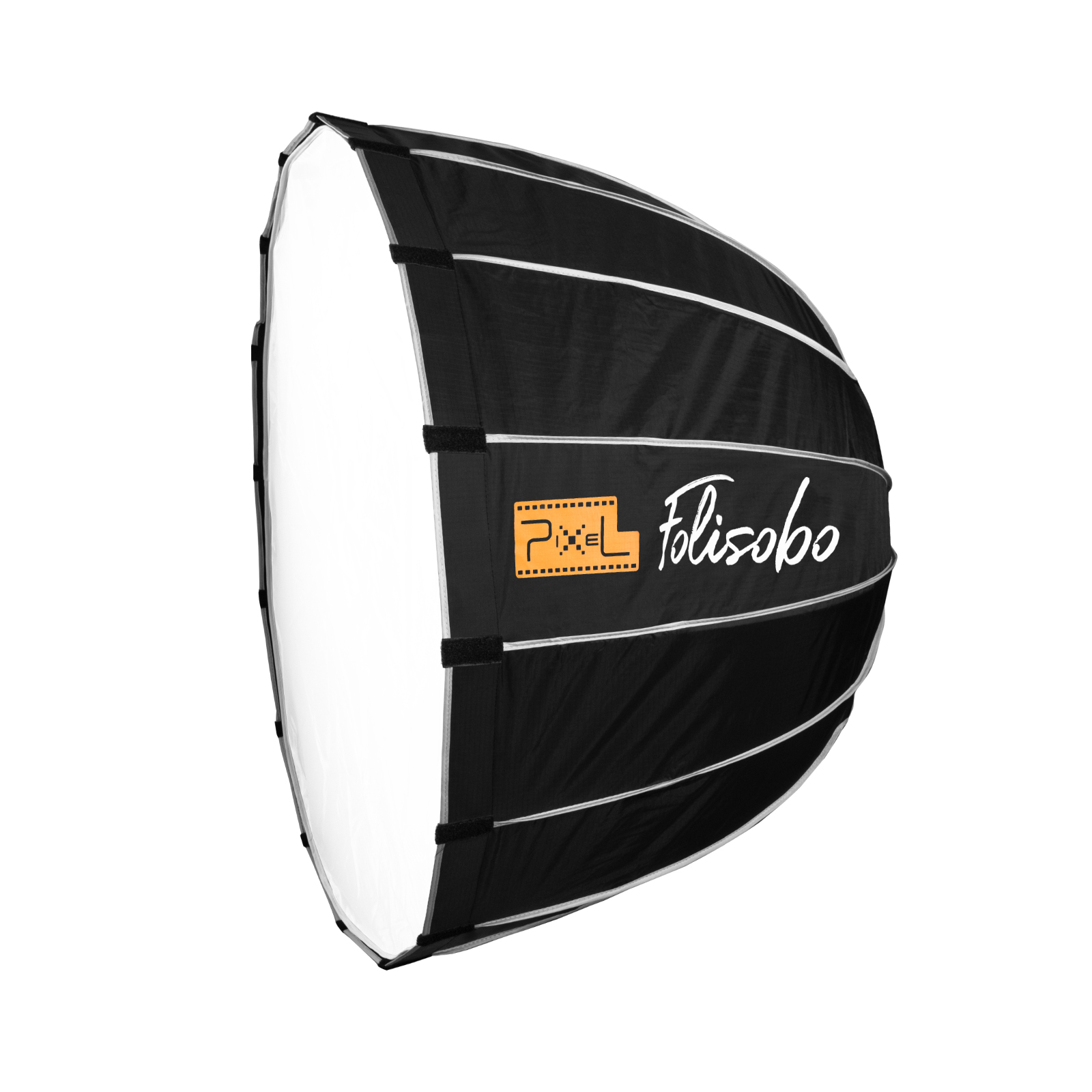 Pixel F60 LED Parabolic Softbox, soft light, delicate and even.
