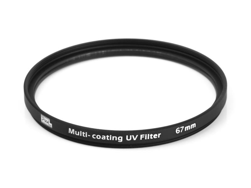 Pixel MCUV Filter 67mm, strong protection and improve quality.