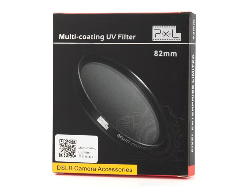 Pixel MCUV Filter 82mm, strong protection and improve quality.