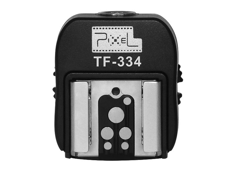 Pixel TF-334 new Sony hot shoe feet, Interface transformation and multiple support.