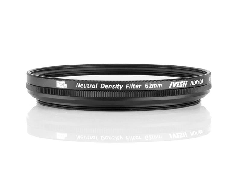 Pixel ND2-ND400 62mm filter, strong protection and improve quality.