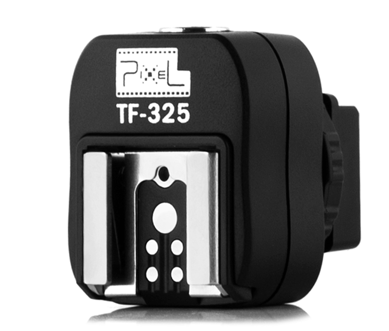 Pixel TF-325  hot shoe adapter, interface transformation and multiple support.