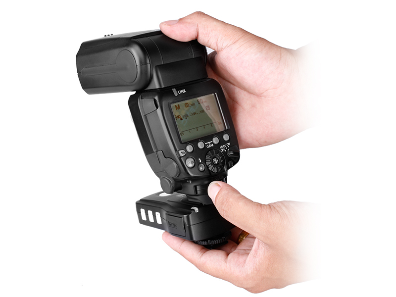 Pixel King Pro For Canon Wireless TTL Flash Trigger, send, receive and powerful function.