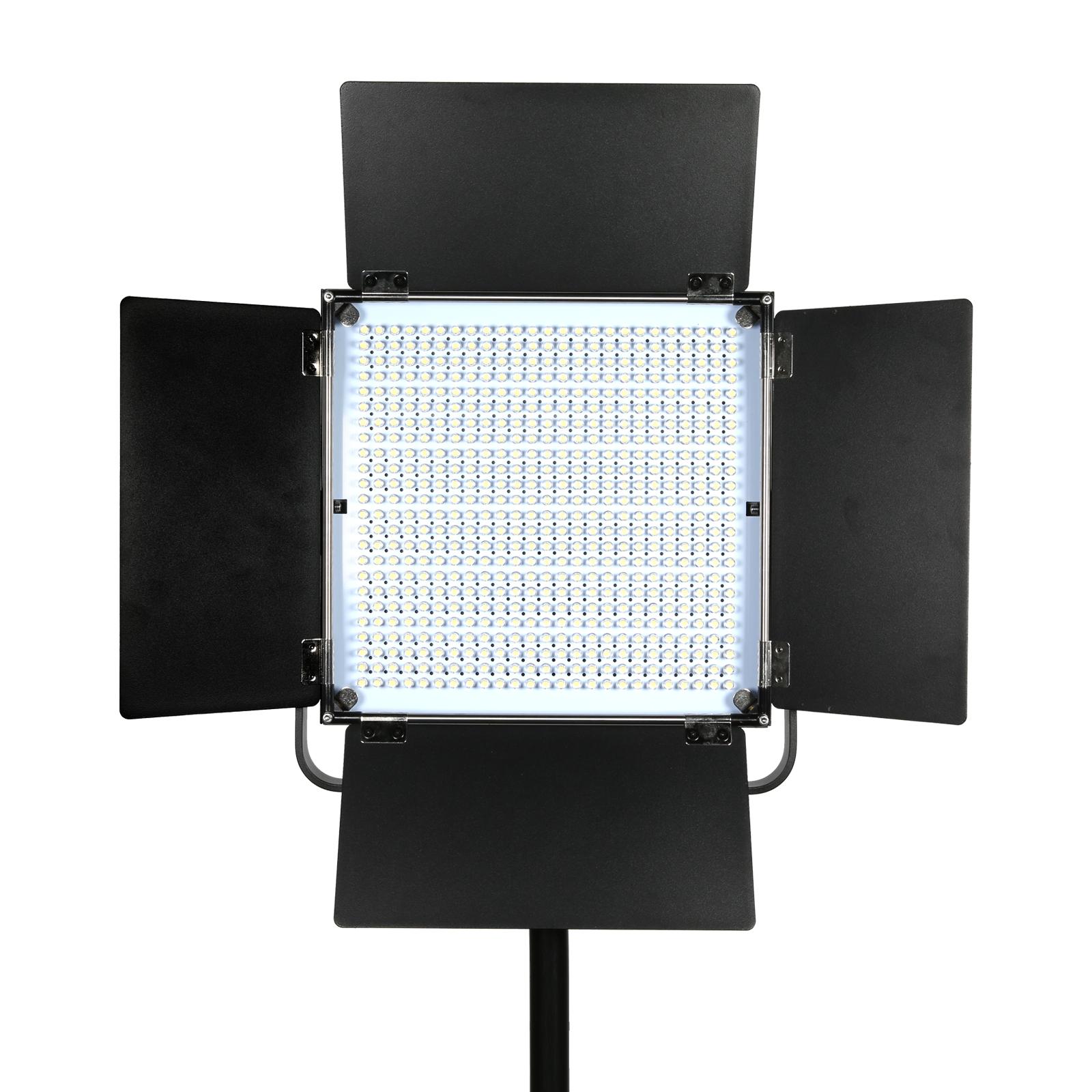 Plxel K80 RGB Metal Light, Gathering light Reflector, brightness upgrade, bi-color temperature and Stepless Adjusted.