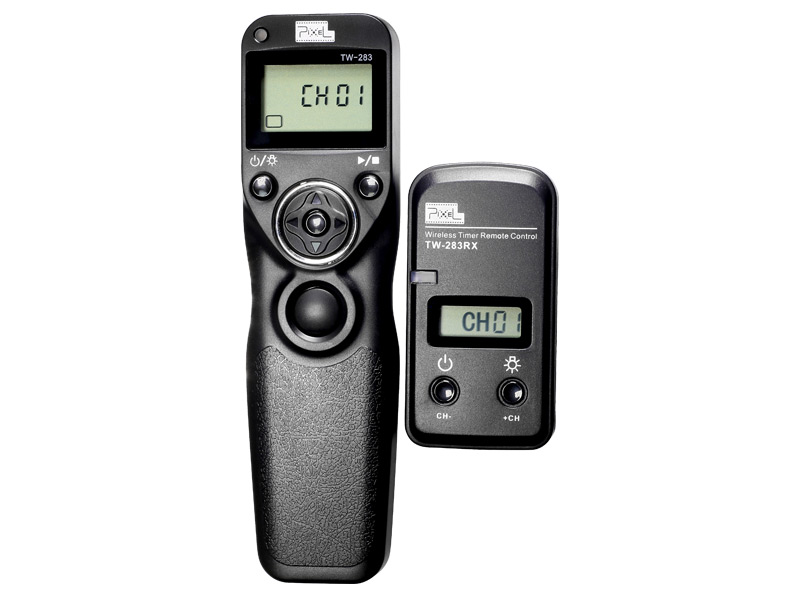 Pixel TW-283 Multi-functional Shutter Remote Control, light, convenient and controlled at will.