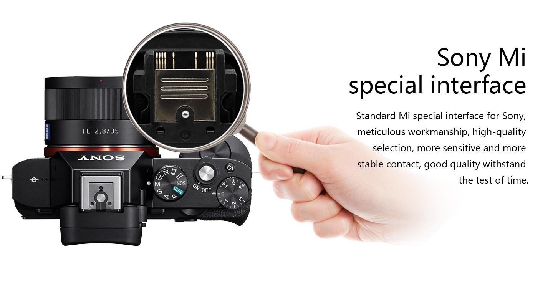 Sony Mi special interface