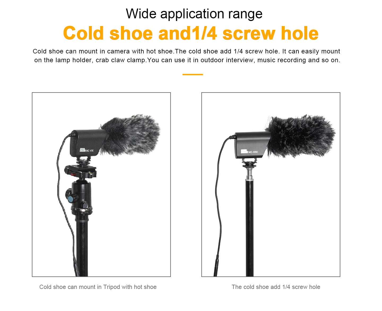 Wide application range