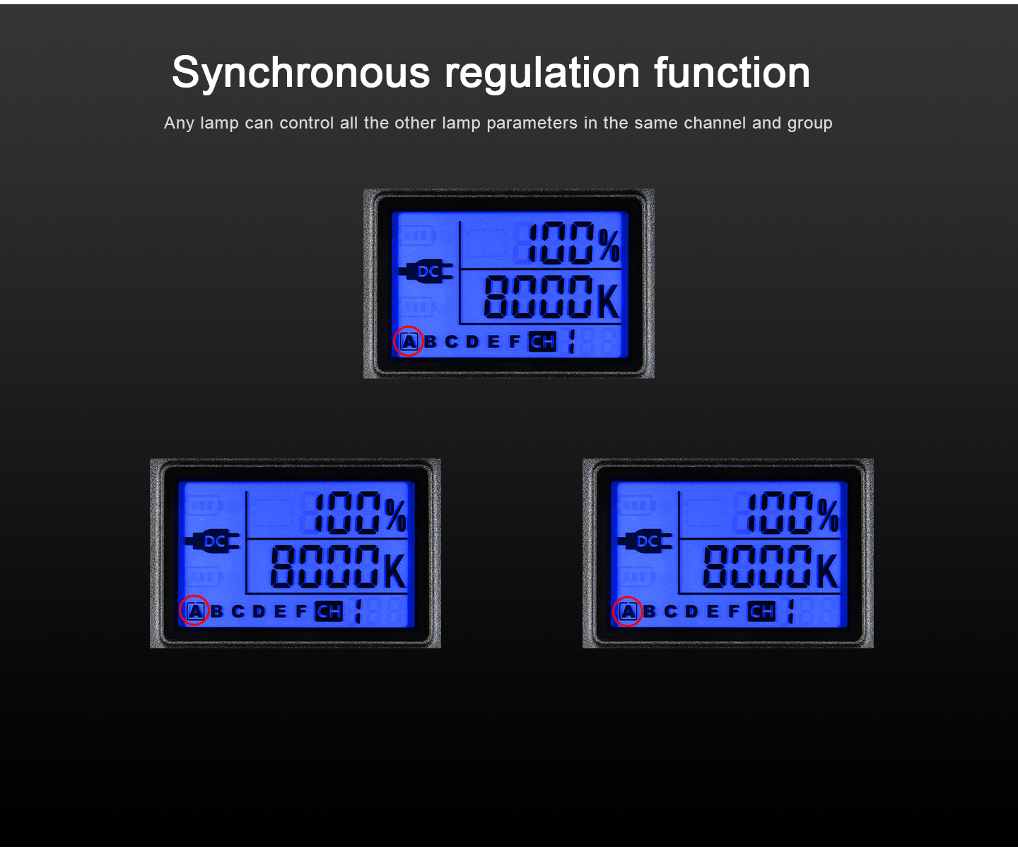 Synchronous regulation funtion