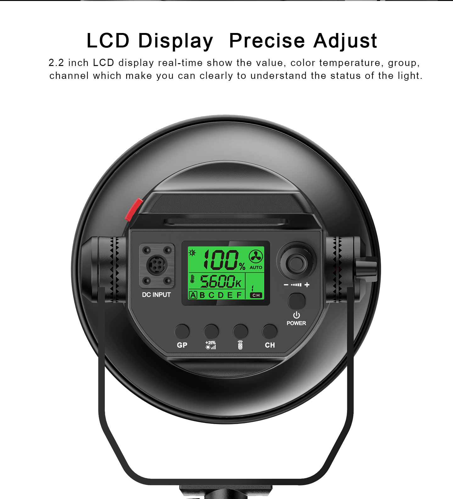 LCD Display Precise Adjust