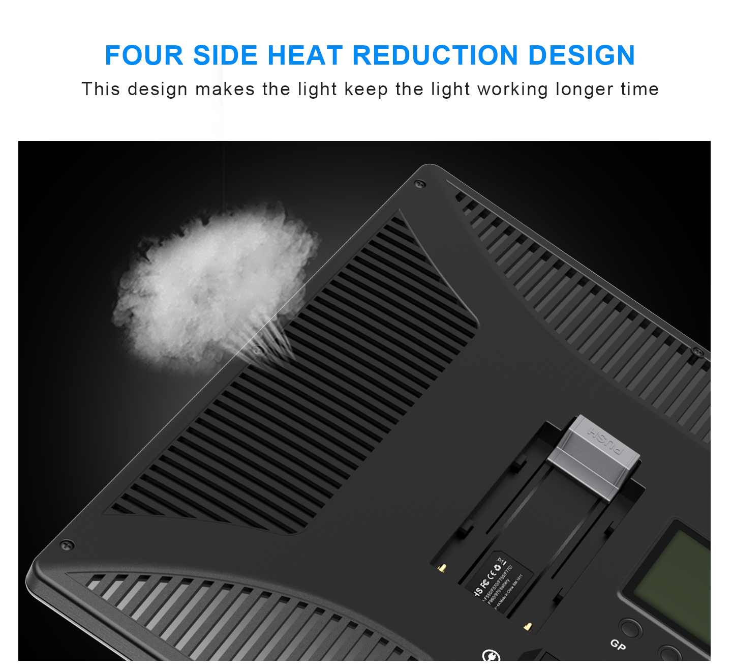FOUR SIDE HEAT REDUCTION DESIGN