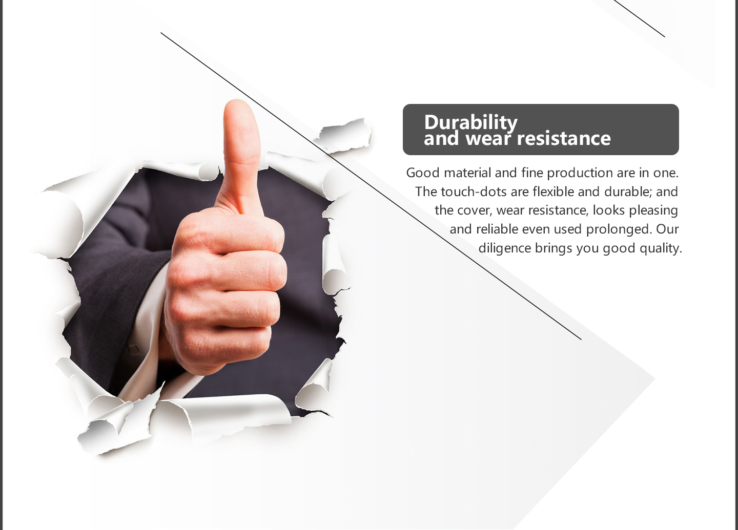 Durbility and wear resistance