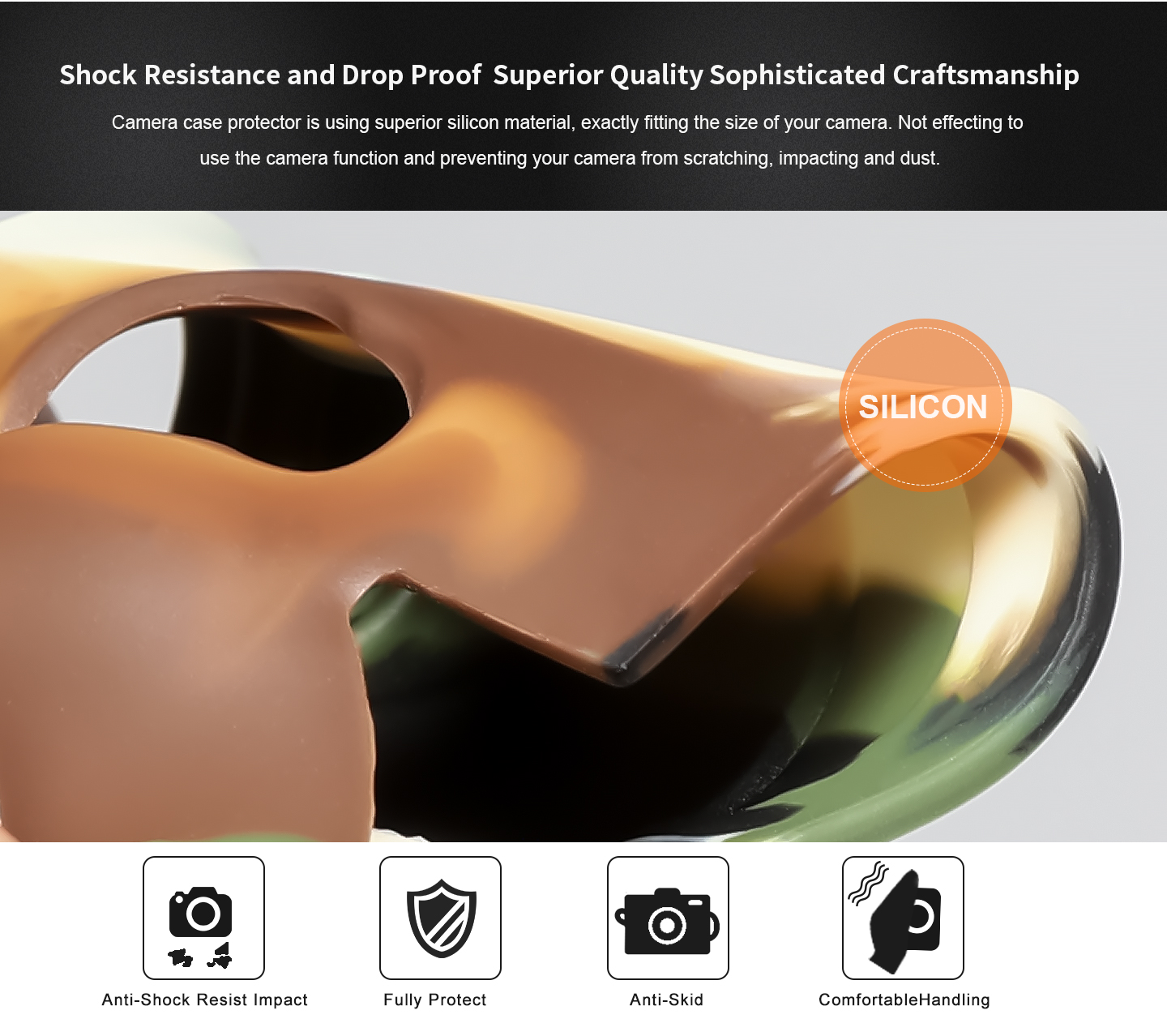 Shock Resistance and Drop Proof Superior Quality Sophisticated Craftsmanship