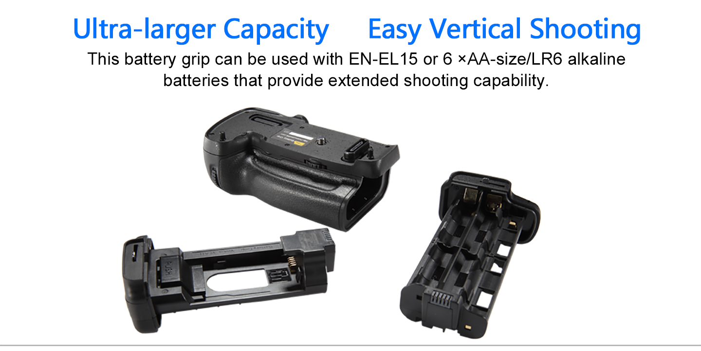 Ultra-larger Capacity Easy Vertical Shooting
