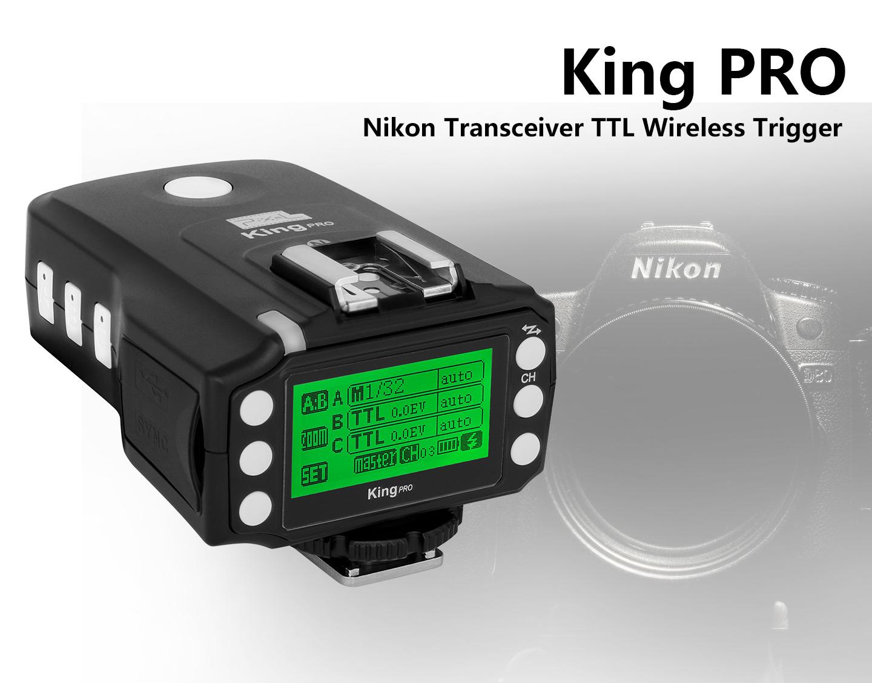 King PRO Nikon Transceiver TTL Wiireless Trigger