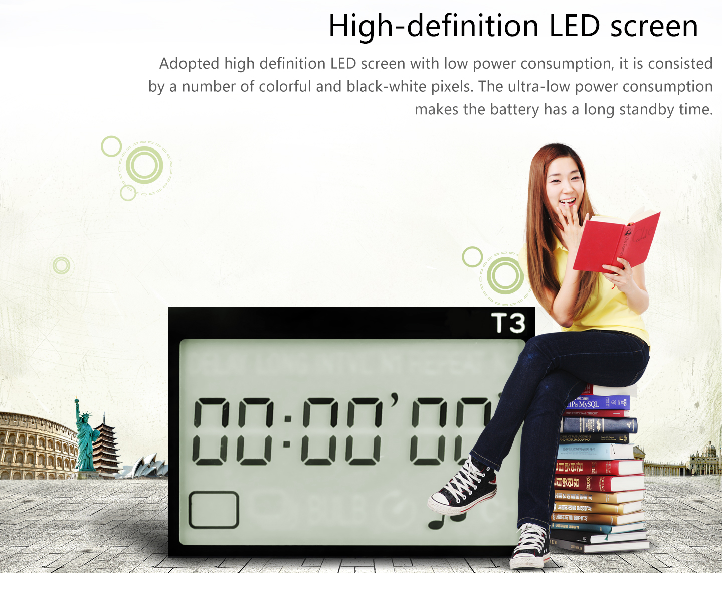 High-definition LED screen