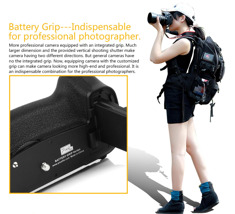 Battery Grip---lndispensable for professional photographer