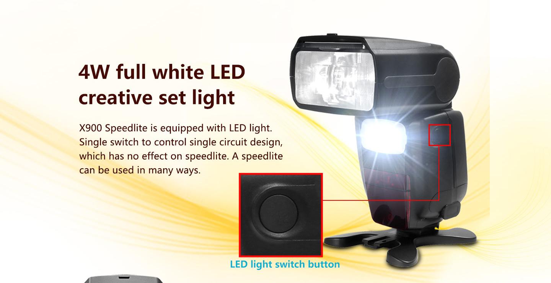 4W full white LED creative set light