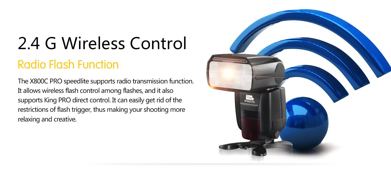 2.4 G Wireless Control