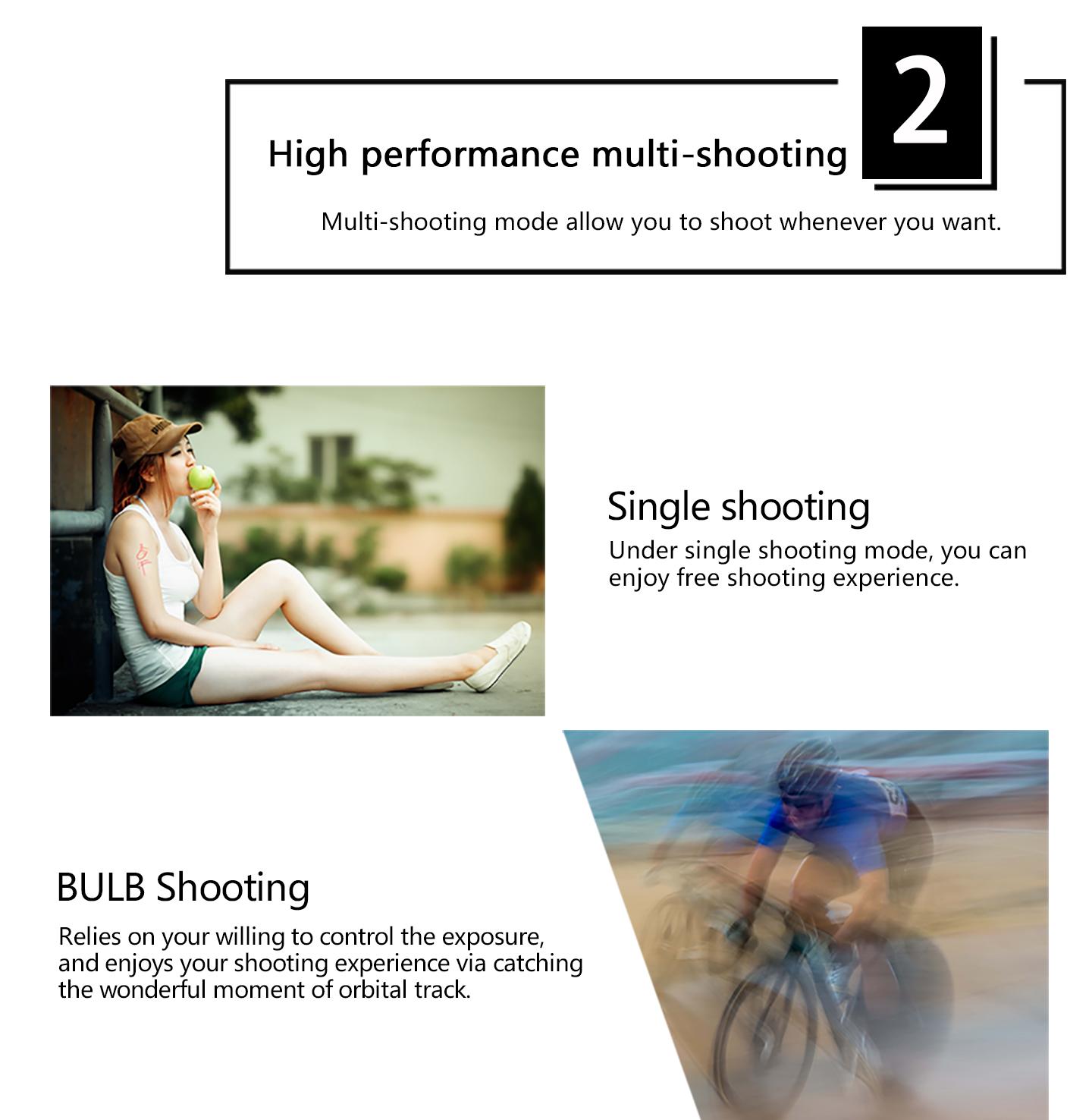 High performance multi-shooting