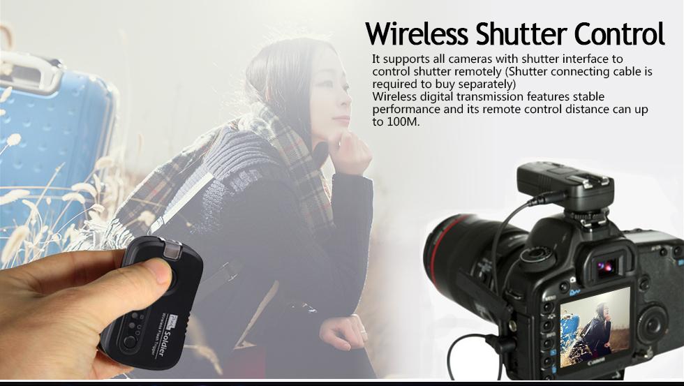 Wireless Shutter Control