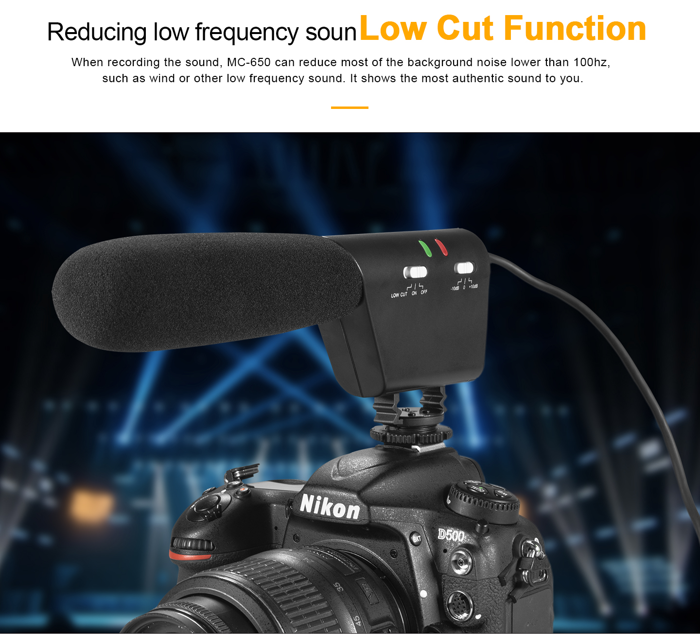 Reducing low frequency sound