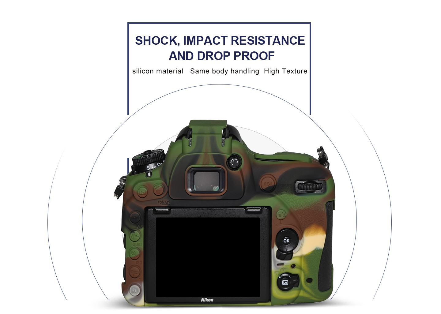 SHOCK, IMPACT RESISTANCE AND DROP PROOF