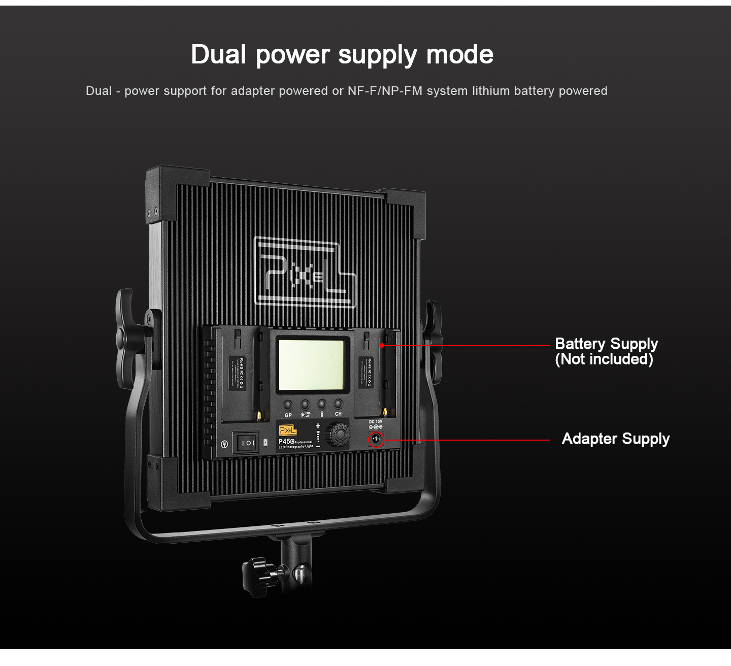 Dual power supply mode