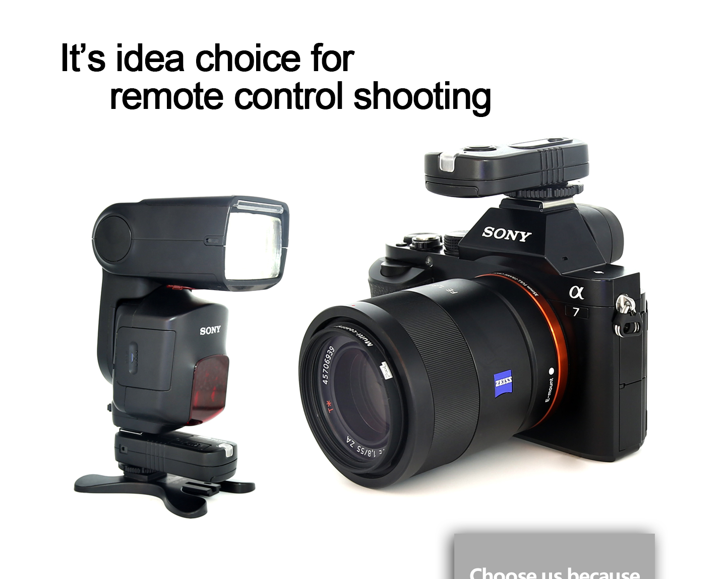 Remote control shooting