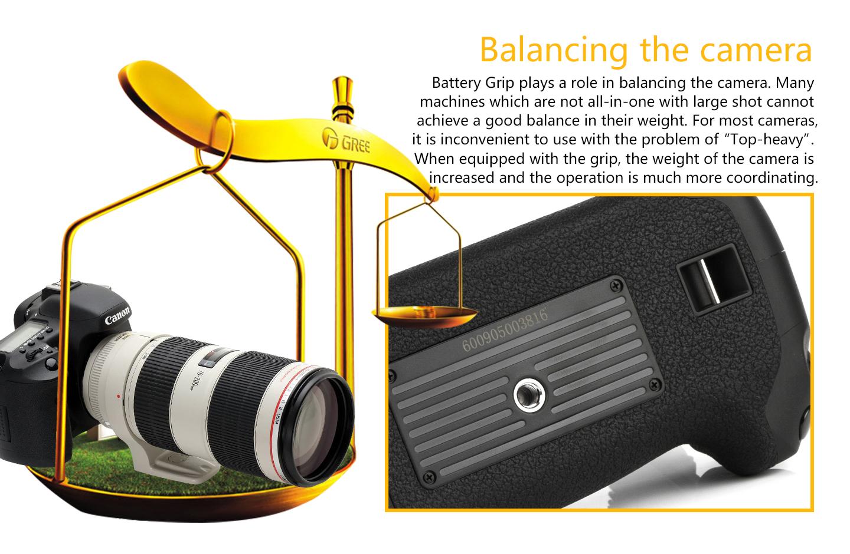 Balancing the camera
