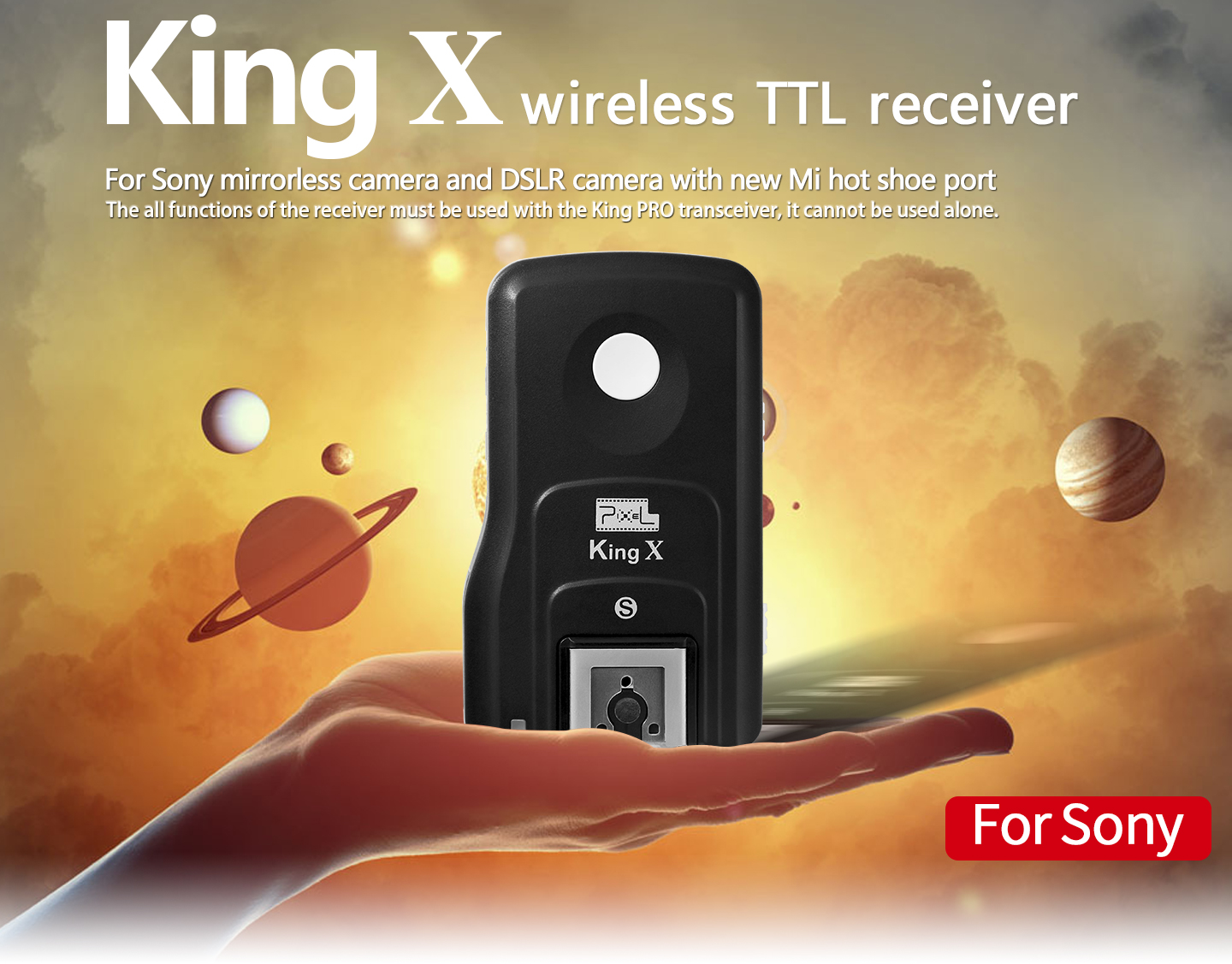 King X wireless TTL receiver