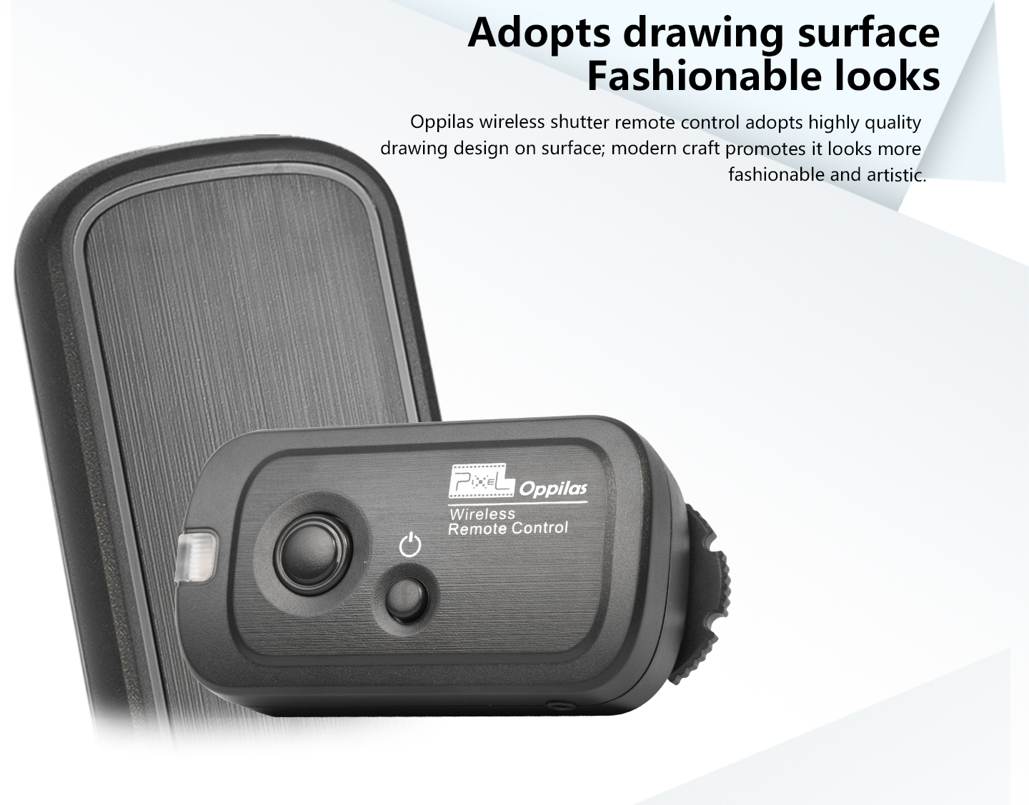 Adopts drawing surface Fashionable looks