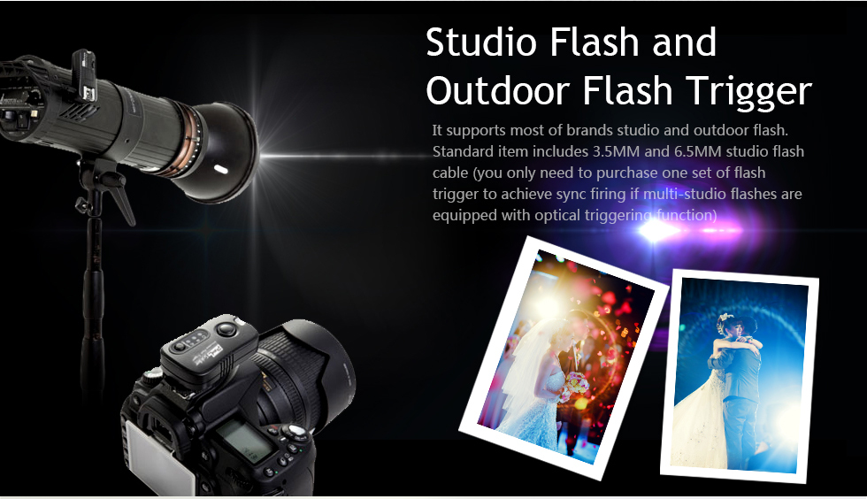 Studio Flash and Outdoor Flash Trigger