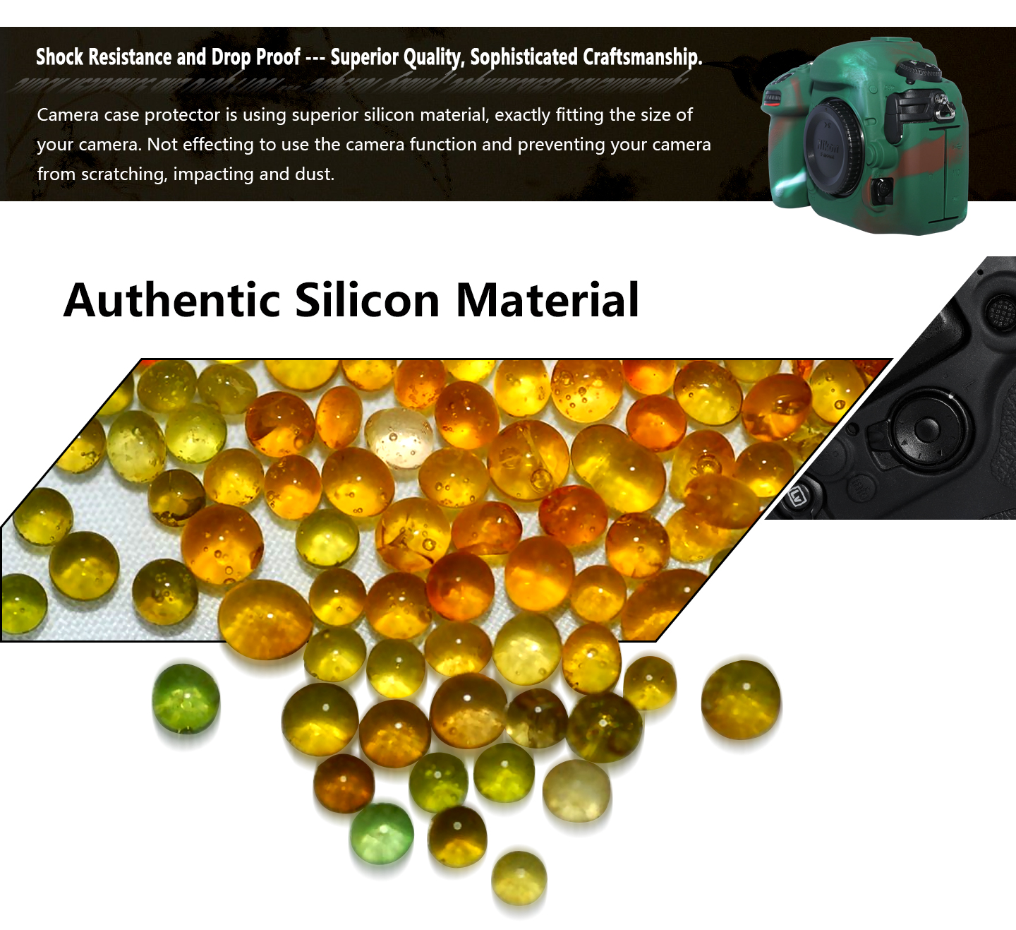 Authentic Silicon Material