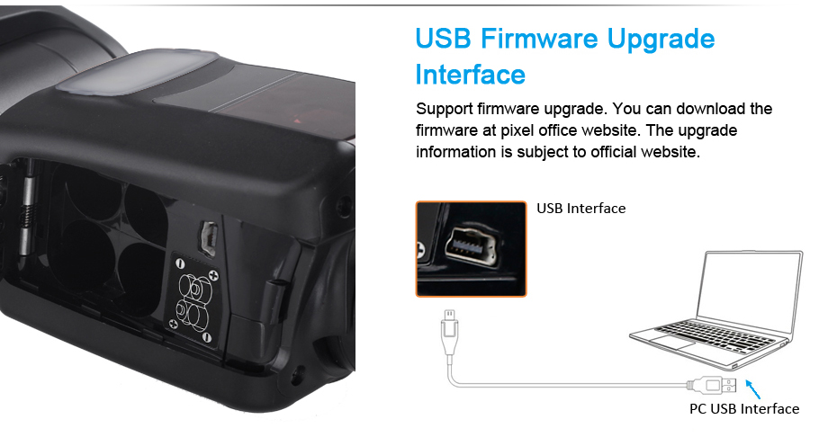 USB Firmware Upgrate, Interface